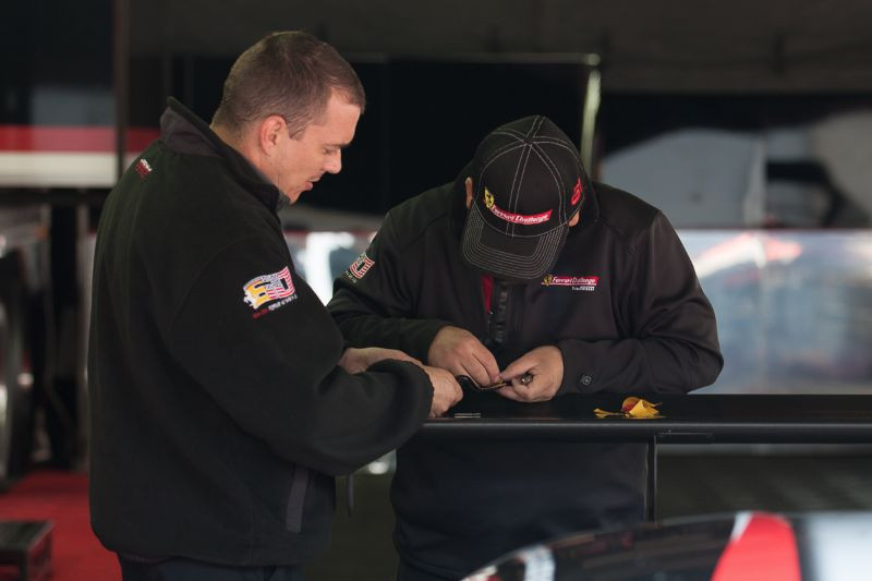 Every detail is important on a race team
