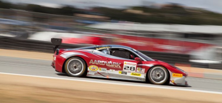 Jon Becker in the #28 Ferrari 458 EVO