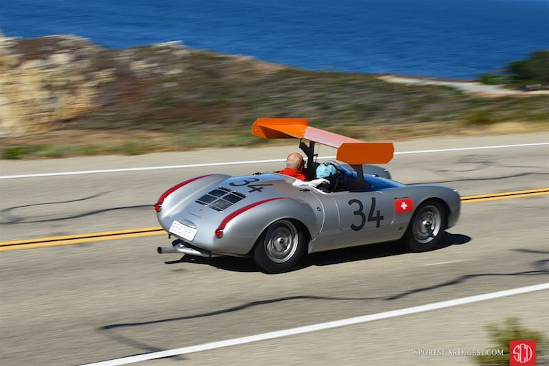 winged porsche 550 spyder at 2015 pebble beach concours. Black Bedroom Furniture Sets. Home Design Ideas