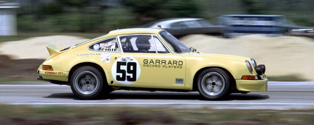 Porsche 911 RSR, winner of the 1973 Sebring 12 Hours