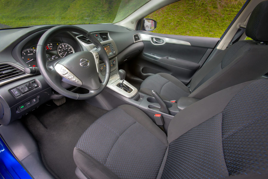 2013 nissan sentra sv driving report car review. Black Bedroom Furniture Sets. Home Design Ideas