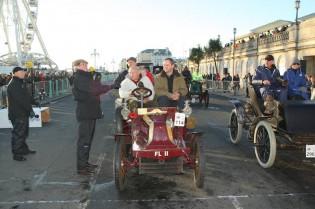 Sir Freddie Sowry completes his 50th drive
