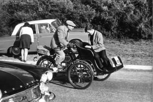 Sir Freddie Sowry taking part 50 years ago