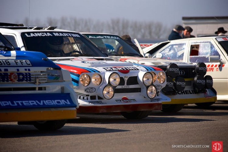 Group B Monsters at the 2014 Goodwood Members' Meeting