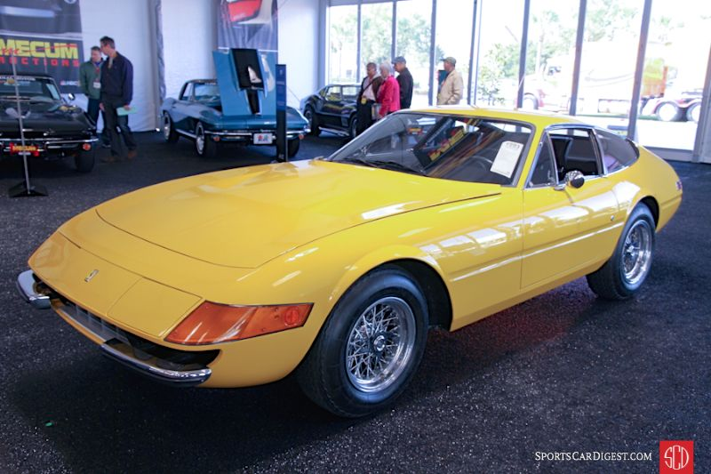 1973 Ferrari 365 GTB/4 Daytona Coupe, Body by Scaglietti
