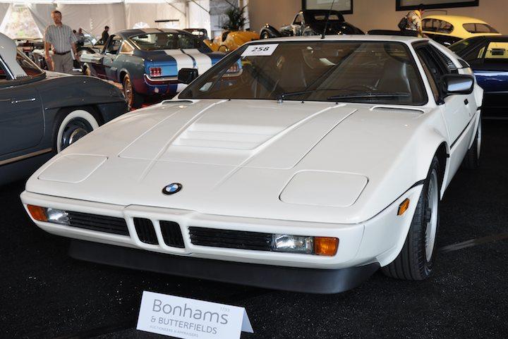 1981 bmw m1 coupe sold for 147 800 versus pre sale estimate of 100 000 140 000 sports. Black Bedroom Furniture Sets. Home Design Ideas