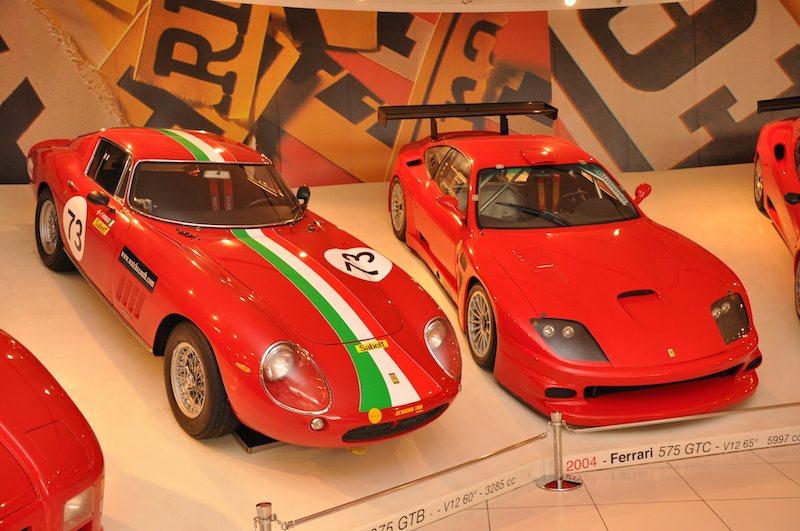 1966 Ferrari 275 Gtb And 2004 Ferrari 575 Gtc Sports Car Digest