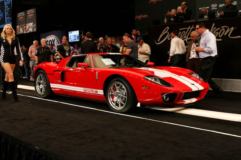 BarrettJackson Las Vegas Auction Results - Barrett jackson car show las vegas