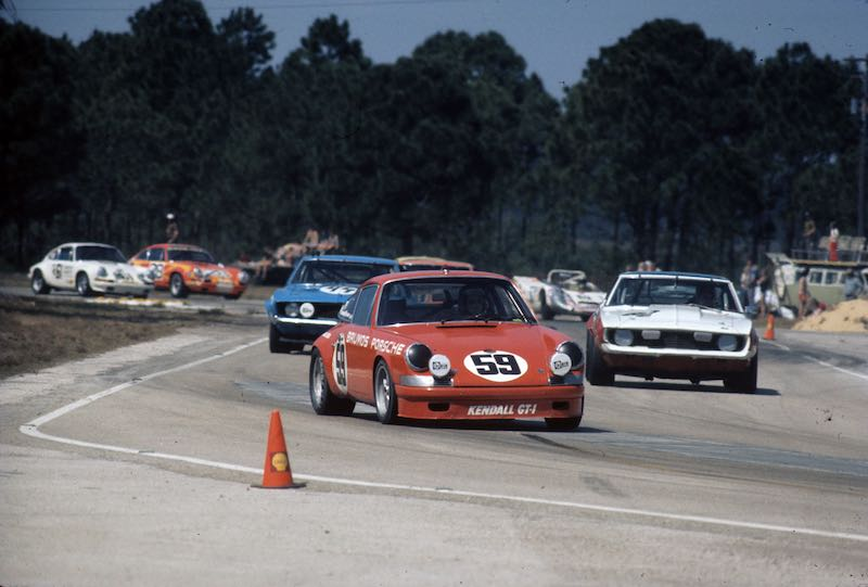 Brumos Porsche 911 (photo: Autosports Marketing Associates)