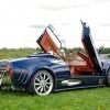 Brett Sokolow's stunning C8 Spyker Cabriolet was a true crowd pleaser
