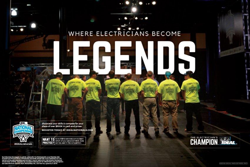 IDEAL Nationals Legends