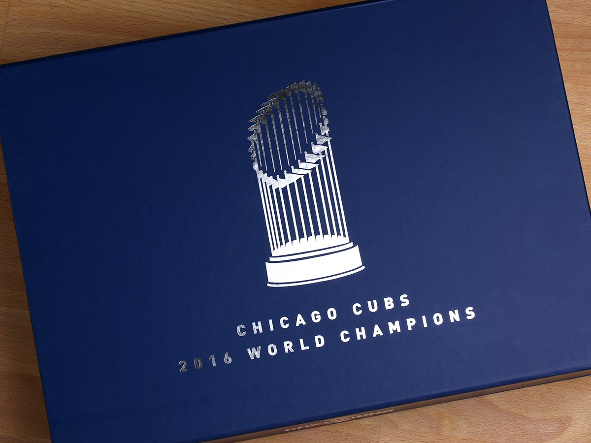 Cubs Ticket Boxes 2017 - Top of Box