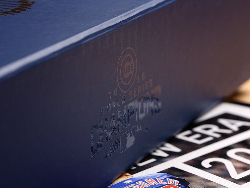 Cubs Ticket Boxes 2017 - side with logo