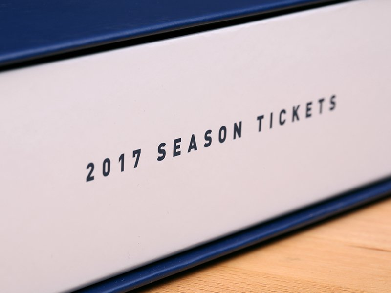 Cubs Ticket Boxes 2017 - side with text