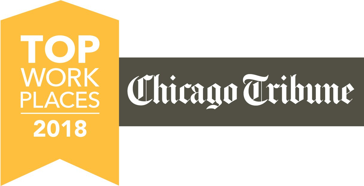 Chicago Tribunes Top Work Places 2018