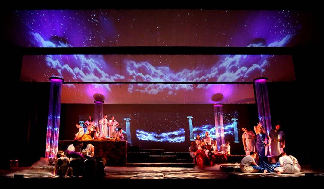 Stage Projections With Basic Projectors Broadway Educators