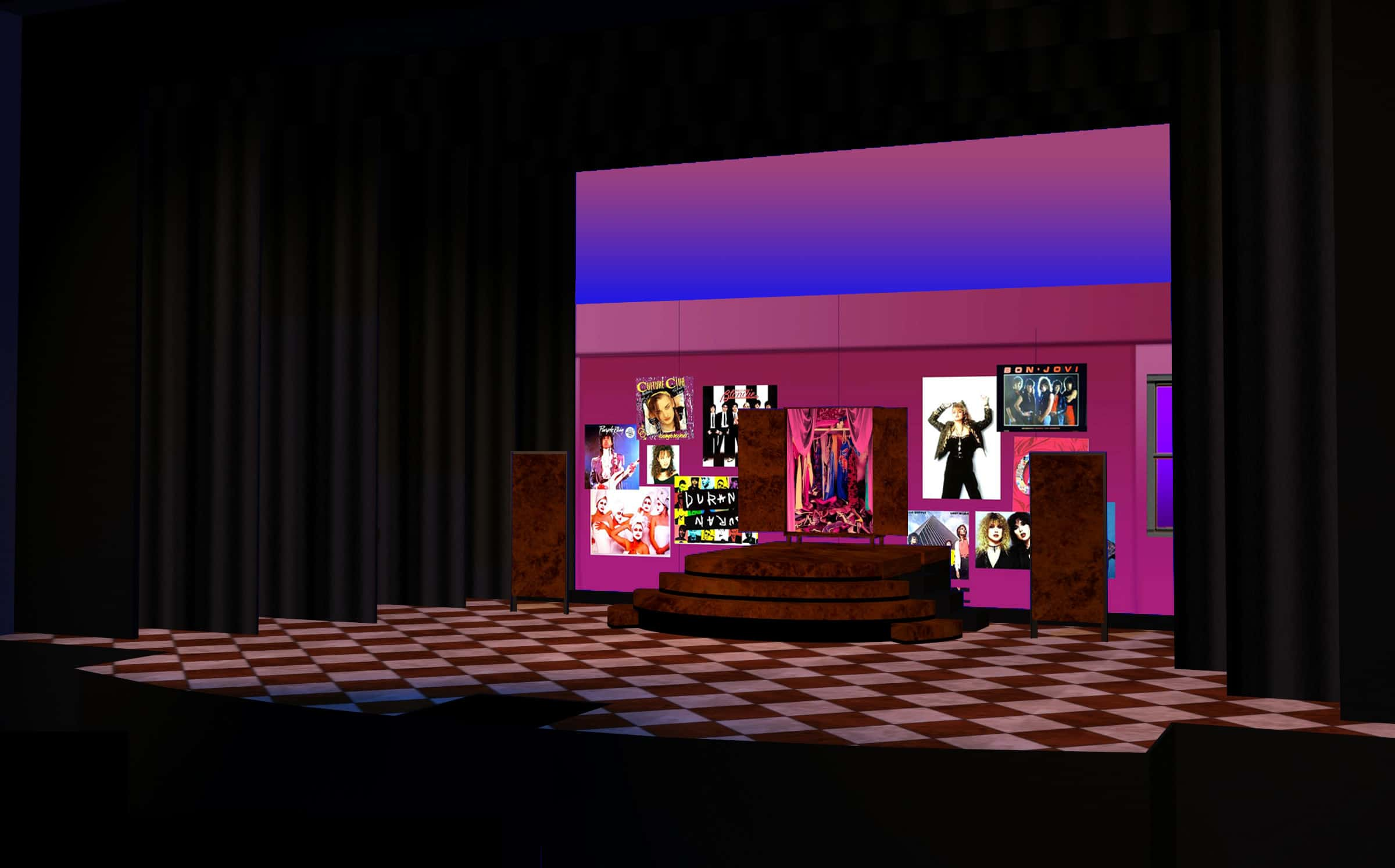 """Holly's room, top of """"Saturday Night in the City"""""""