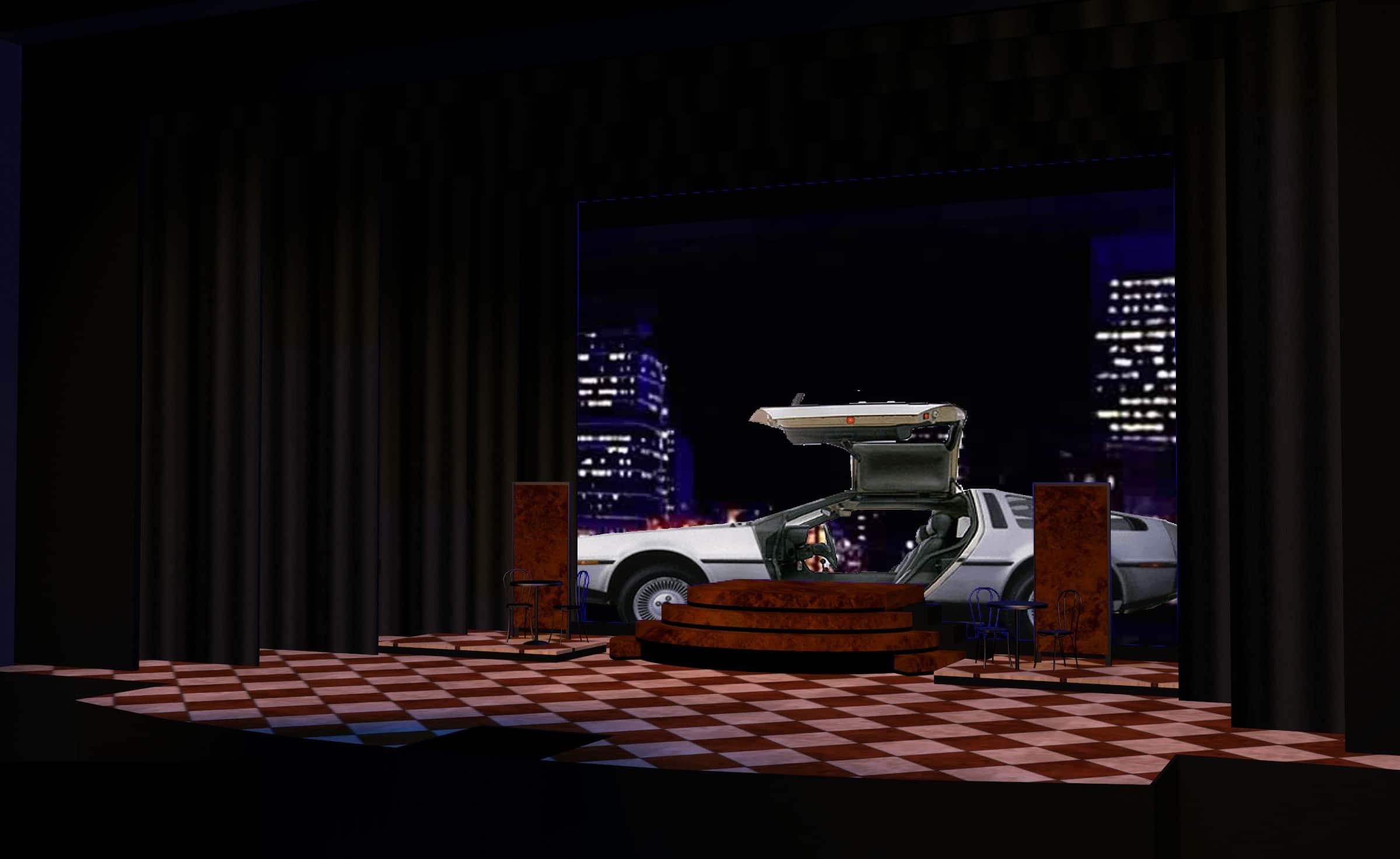 """Delorean sequence: """"Saturday Night in the City"""""""