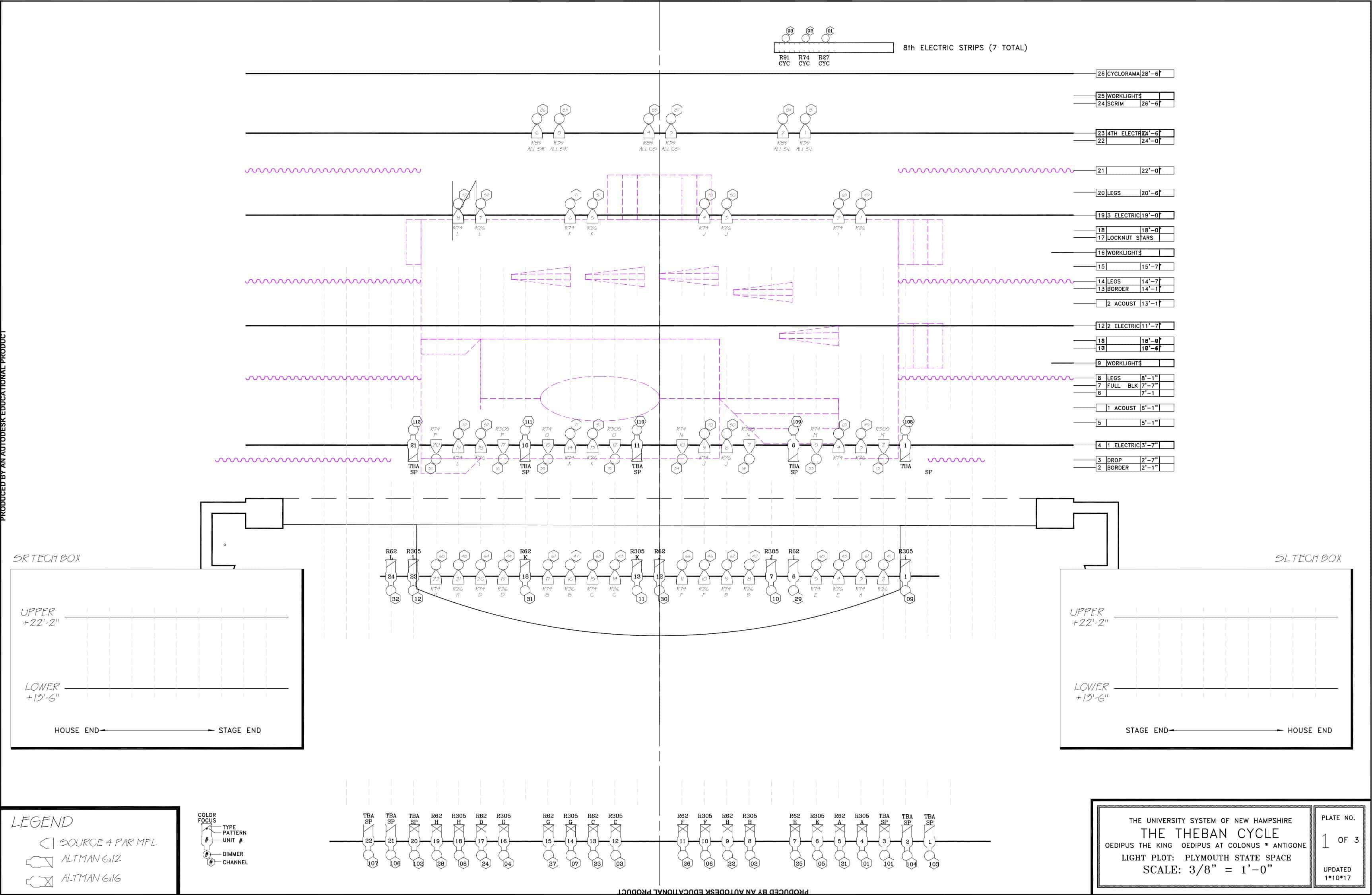 D:design2016-17Oedipus Cyclelighting designPSU Plot Model (