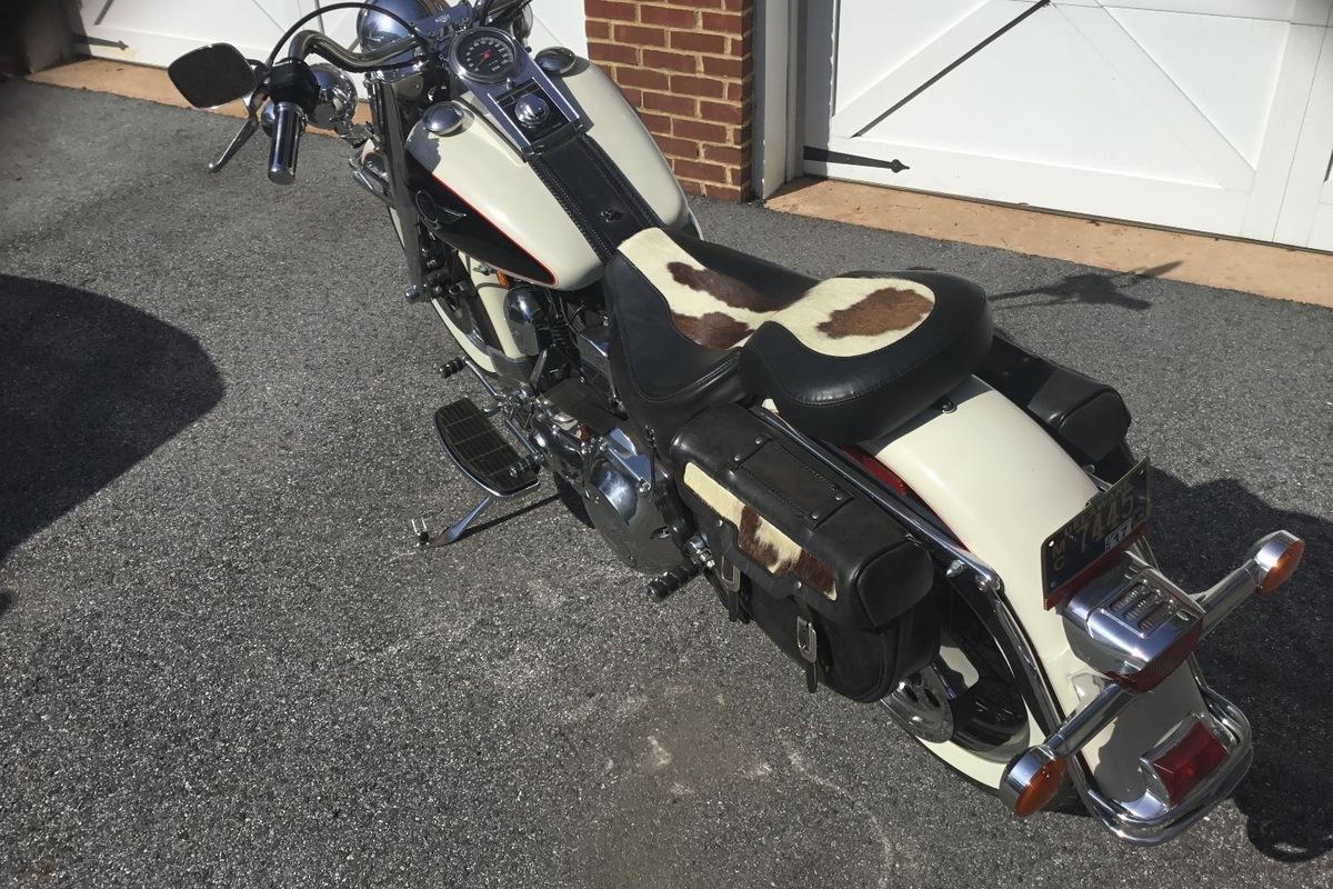 1993 Harley-Davidson 1993 Harley Davidson FLSTN Heritage Nostalgia, 0
