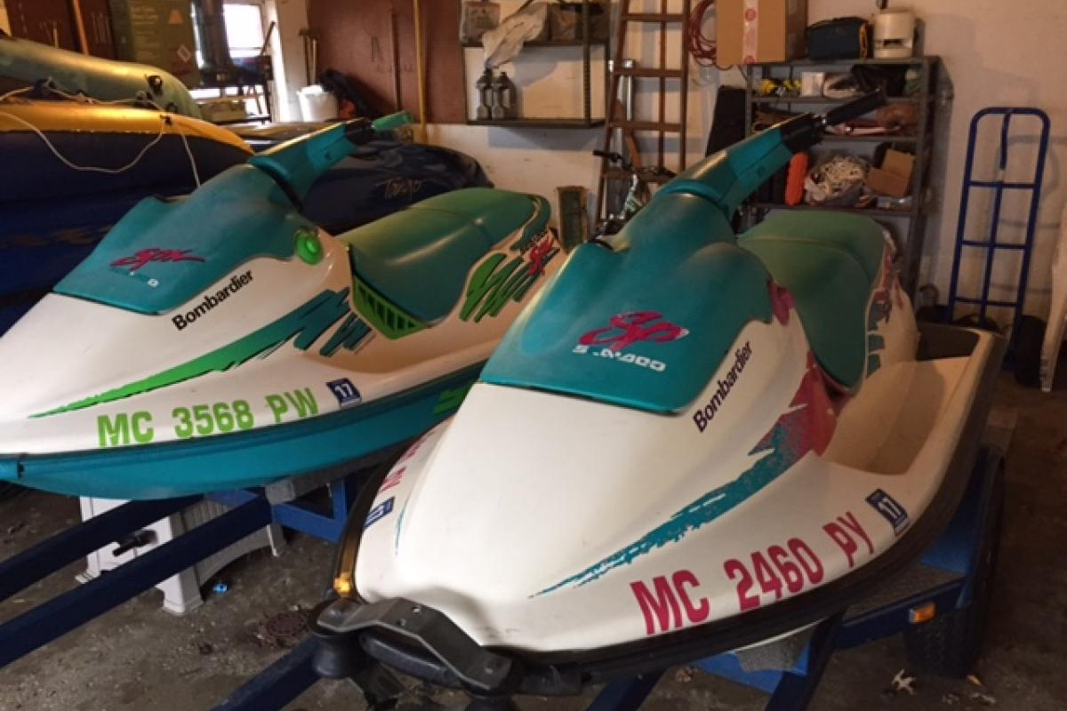 1996 Sea Doo Bombardier SPX and SP, 2