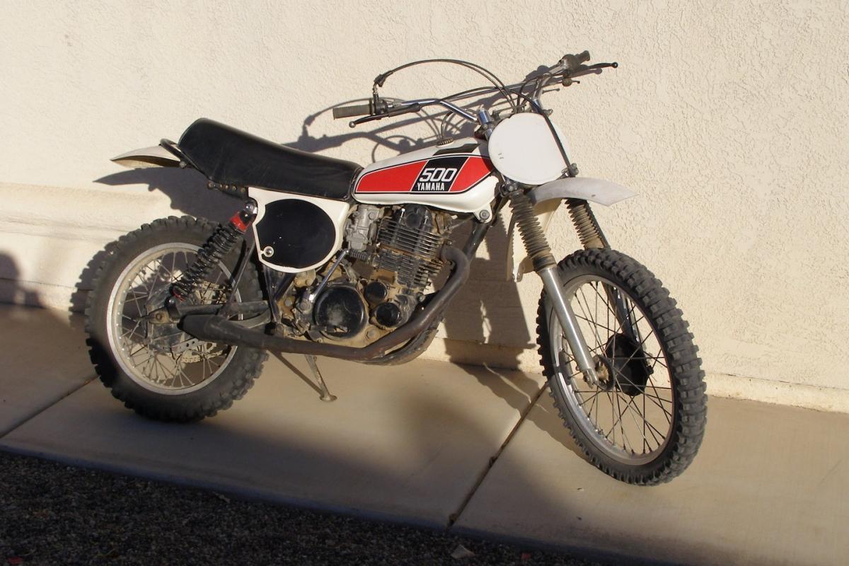 1976 Yamaha TT500, 0
