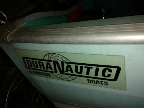 1970 Duranautic Manufacturing Coastal 13'  AND Trailer