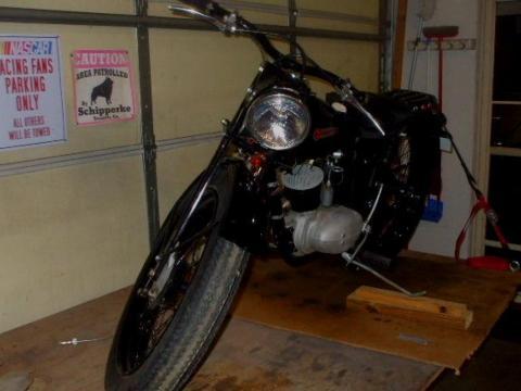 1948 Harley-Davidson 125S Hummer
