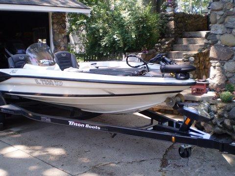 2008 Triton Boats TR-186