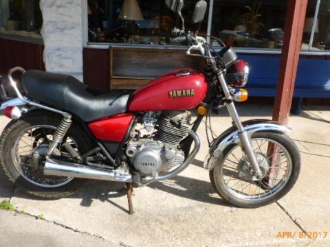 1980 Yamaha SR250 Exciter