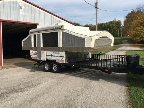 2010 Forest River Rockwood 282TXR Pop Up Toy Hauler