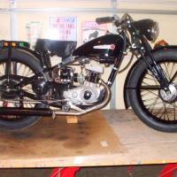 1948 Harley-Davidson 125S Hummer, 2