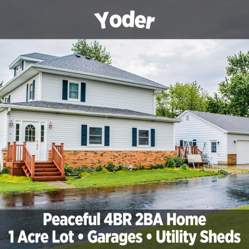 Beautiful 4 bedroom, 2 bath home in Yoder