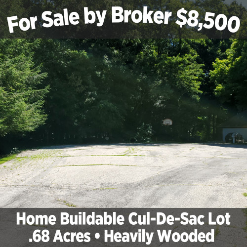 For Sale by Broker - $8,500