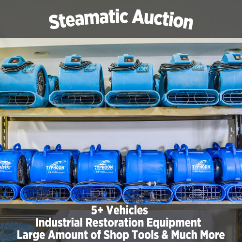 Steamatic of Fort Wayne Incorporated Equipment Auction