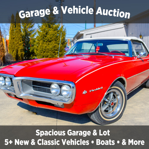 Garage & Vehicle Auction