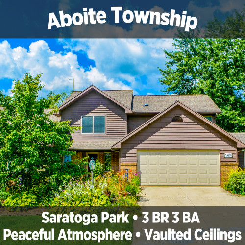 Peaceful 3 Bedroom 3 Bathroom Home in Aboite Township