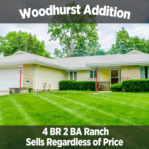 Charming 4 bedroom, 2 bath home in Woodhurst Addition & 2001 Mercedes