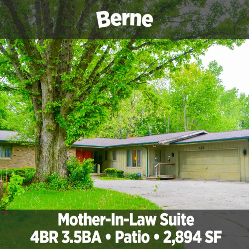 Charming 4 bedroom, 3.5 bath home in Berne, IN