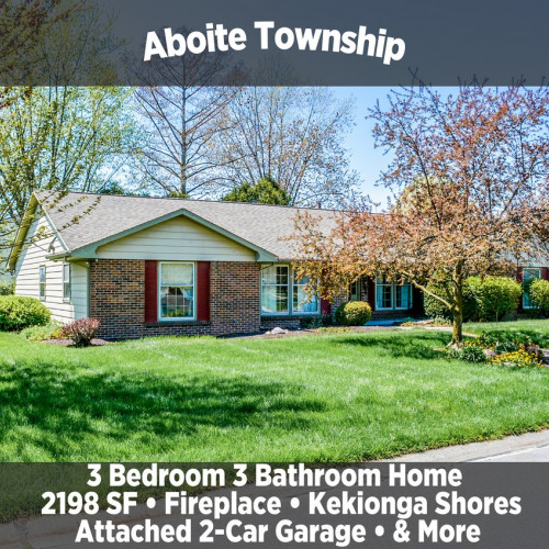 Beautiful 3 Bedroom 3 Bathroom Home in Aboite Township
