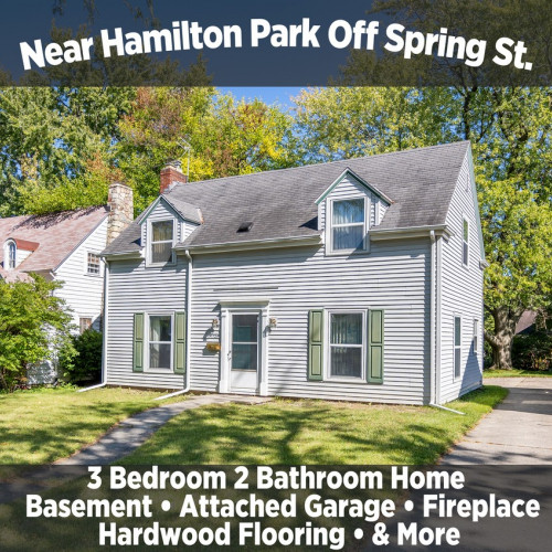 Quaint 3 Bedroom 2 Bathroom Home Near Hamilton Park off Spring St.
