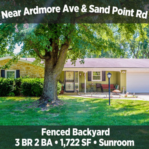 Charming 3 Bedroom 2 Bathroom Home Near Ardmore Ave & Sand Point Rd