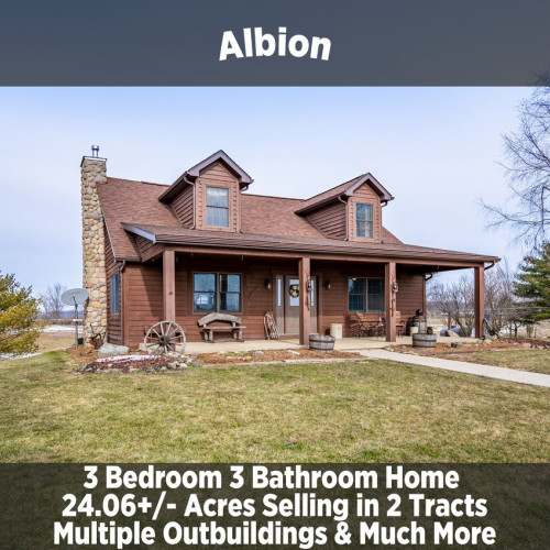 BEAUTIFUL 3-BEDROOM 3-BATHROOM HOME IN ALBION