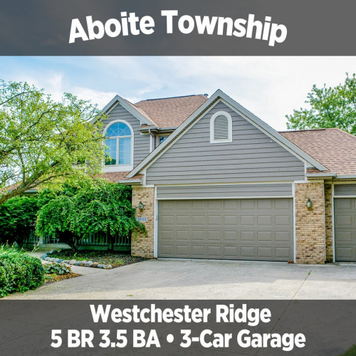 Beautiful 5 Bedroom, 3.5 Bathroom Home in Westchester Ridge, Aboite Township