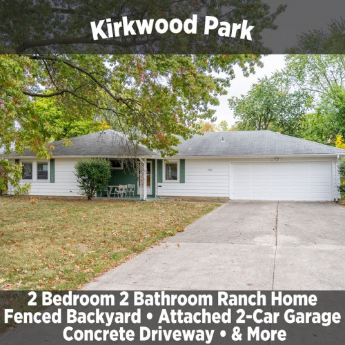 Charming 2 Bedroom 2 Bathroom Ranch Home in Kirkwood Park