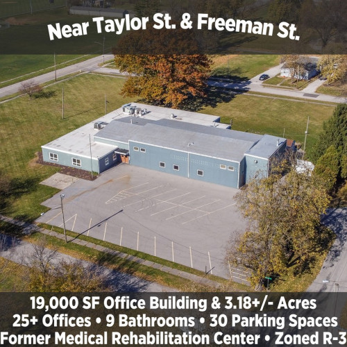 19,000 SF Office Building & 3.18+/- Acres