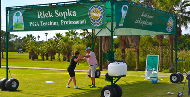 Golf Instruction with PGA Professional Rick Sopka @ Mangrove Bay Golf Course