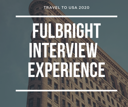 Fulbright interview experience