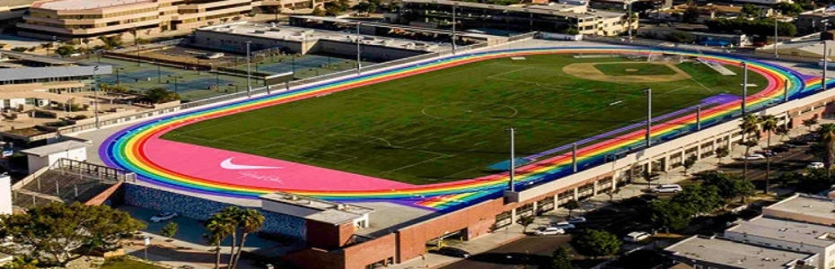 Los Angeles City College Nike Track