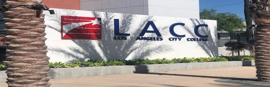 Los Angeles City College Statue